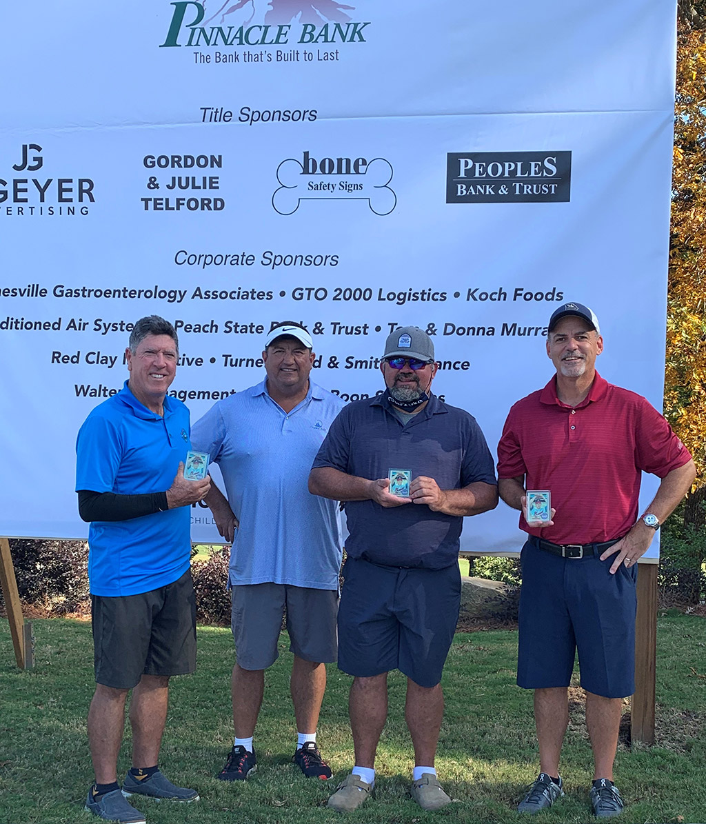Legends Course Phil Neikro Golf Classic 2020 Winning Team